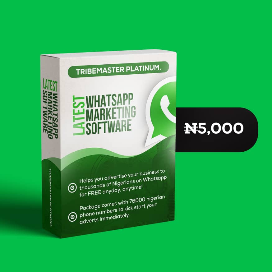 Tribemaster - Whatsapp Marketting Tool